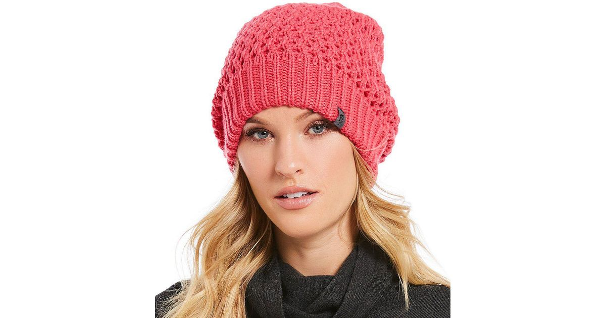 Lyst - The North Face Shinsky Reversible Beanie in Pink 47a480a62c2