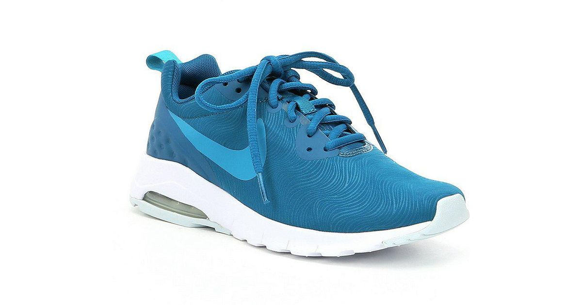 new arrival cf2d6 87a34 ... Dillards  uk availability 14e94 ebba3 Nike Womens Air Max Motion  Lifestyle Shoes in Blue - Lyst ...