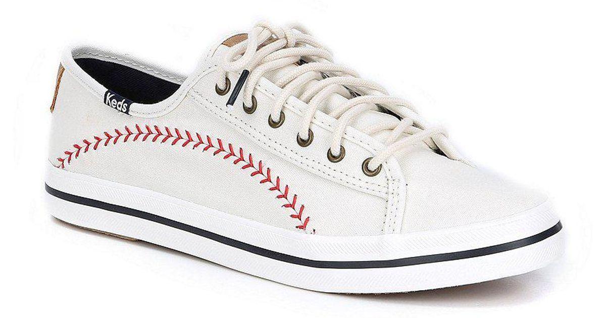 Kickstart Pennant Baseball Stitch Sneakers g4yjv9z