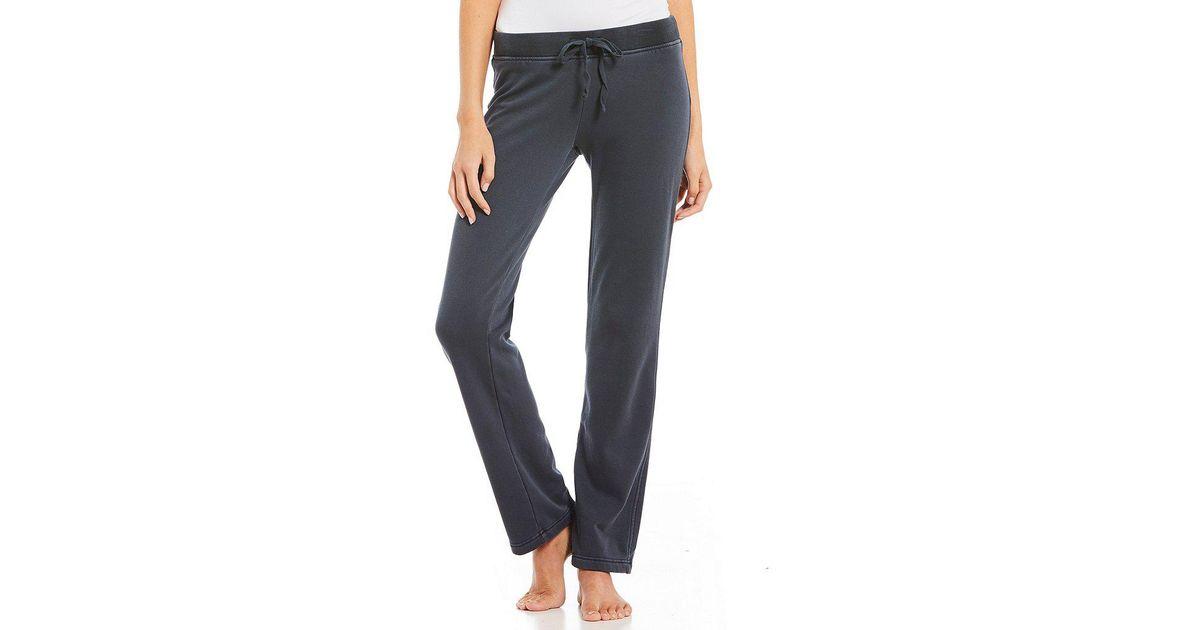 e5da49ca2f Lyst - UGG Penny Fleece Lounge Pants in Blue