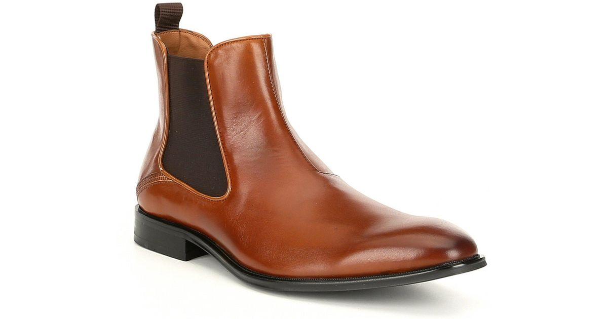 34548bd8e39 Steve Madden Black Men's Malice Chelsea Boot for men