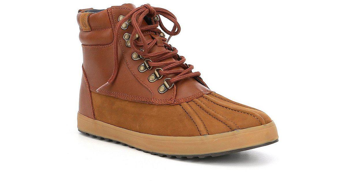 Ralph Lauren Regnald Nubuck Sneaker Boot