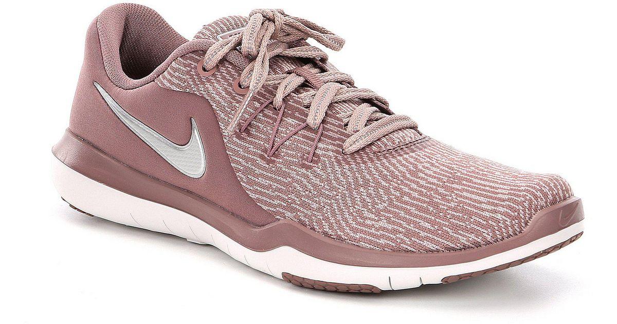 25d08be486e4d Lyst - Nike Women s Flex Supreme Tr 6 Print Training Shoe