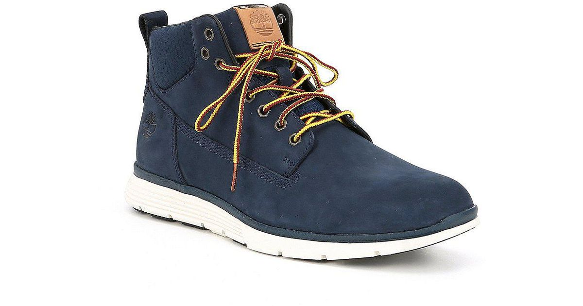 Timberland Killington Chukka Mid Boots in Blue for Men
