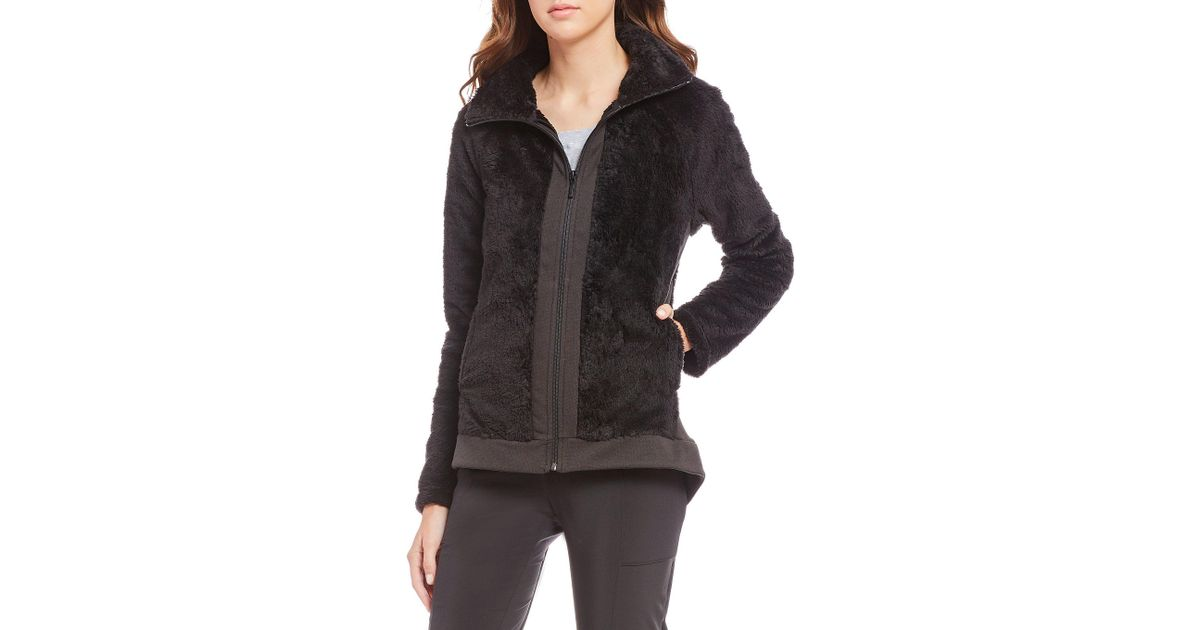 north face black Furry jackets