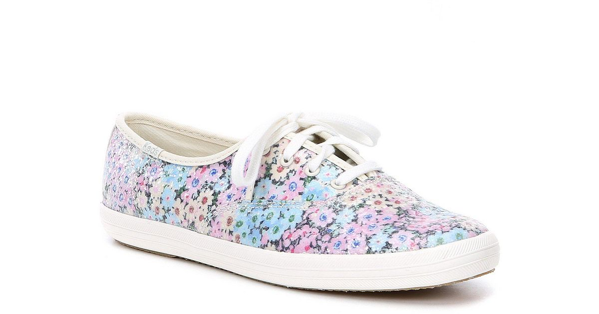 6ce369e8222 Kate Spade Keds For Champion Daisy Garden Sneakers in Blue - Lyst