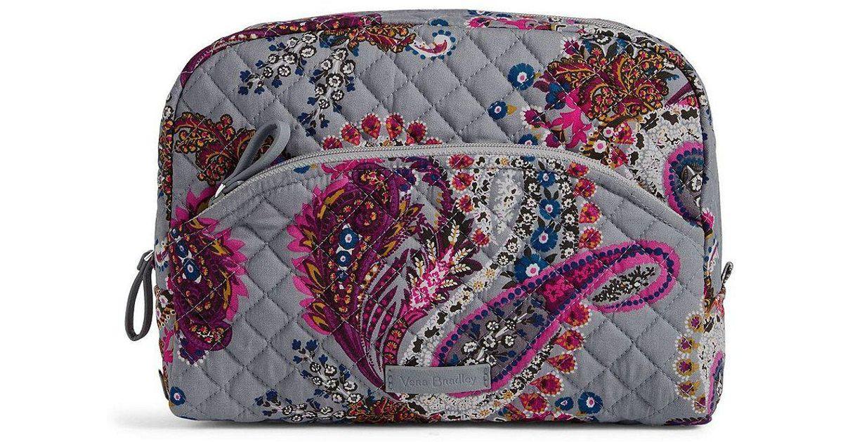 e77b2ad3c814 Lyst - Vera Bradley Iconic Large Cosmetic Bag