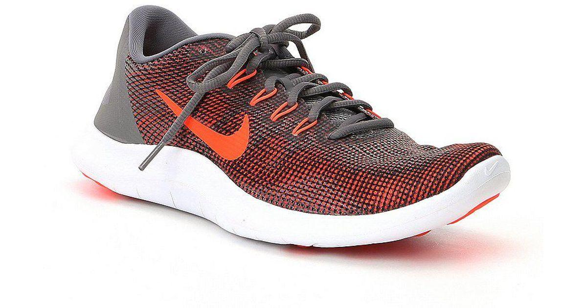 18cb8c776cb Lyst - Nike Men s Flex 2018 Rn Running Shoes in Blue for Men