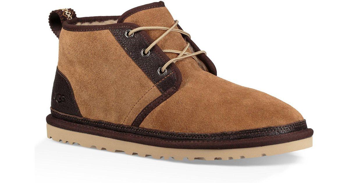 04421806bbc Ugg Brown Men's Neumel Suede Boot for men