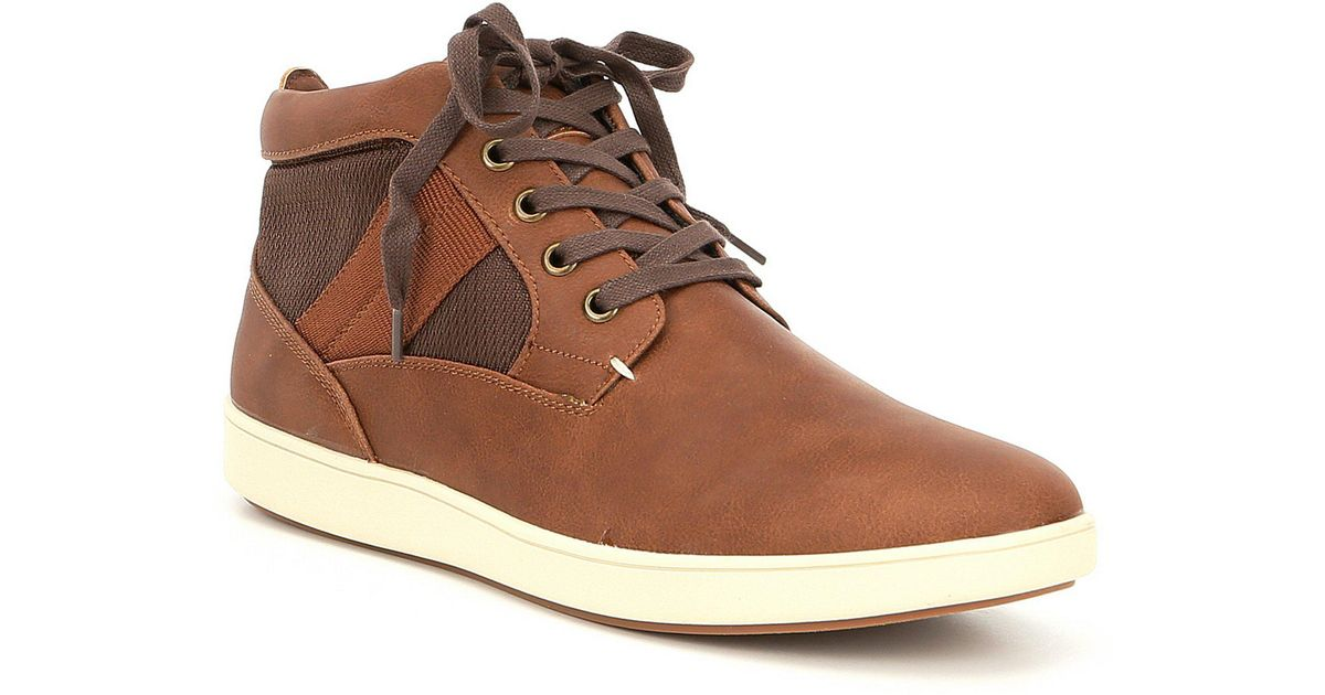 cd9cd086f44 Lyst - Steve Madden Men s Frazier Sneakers in Brown for Men
