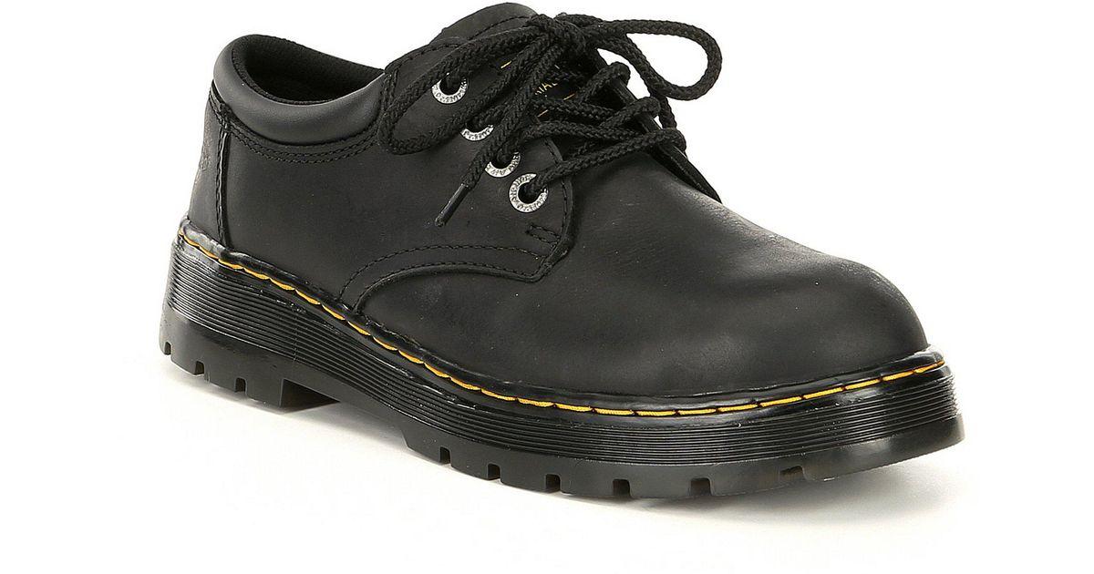 569785f9591 Dr. Martens Black Men's Bolt Work Steel Toe Oxford for men