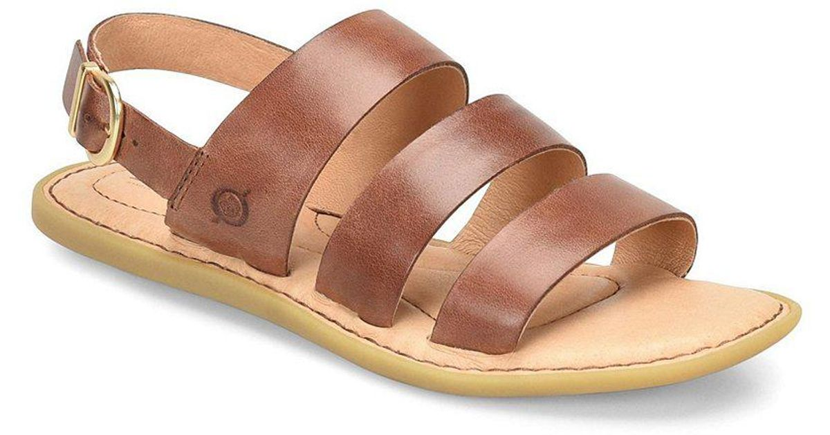 Froya Leather Banded Sandals QyWopUQ