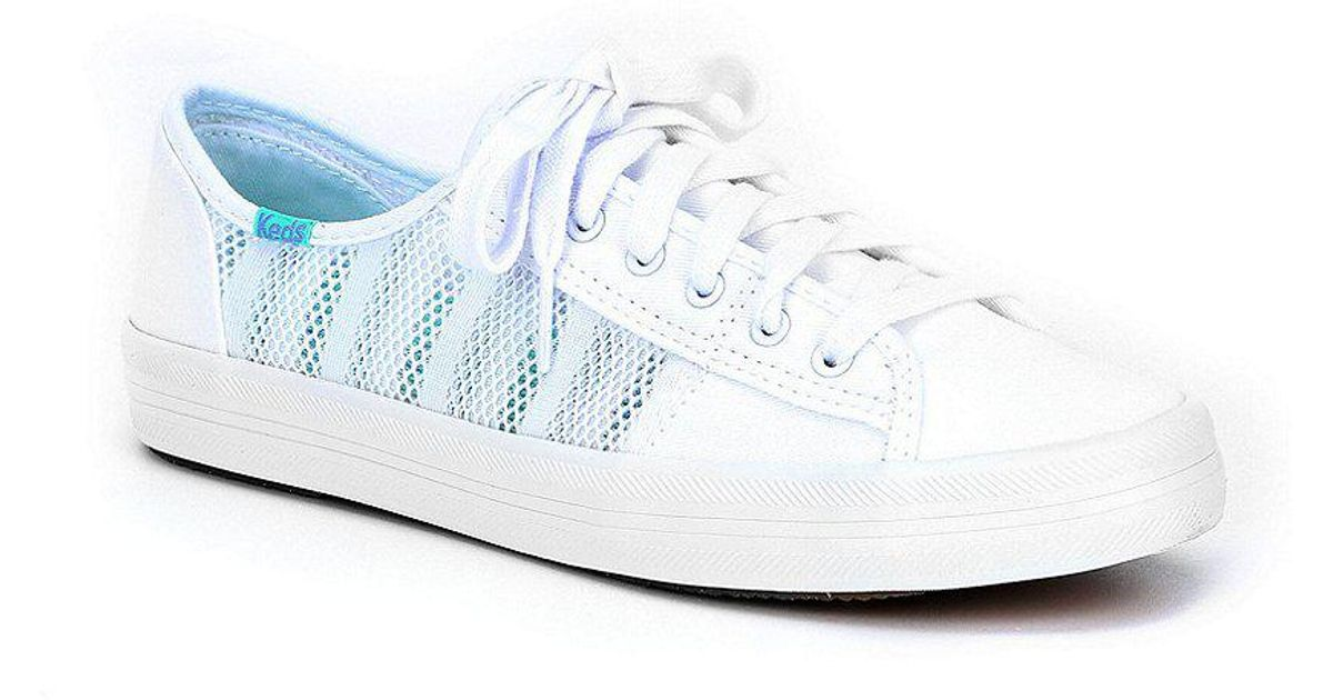 Keds Women/'s Kickstart Striped Mesh Sneaker
