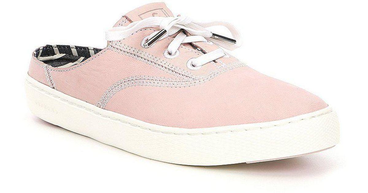 GrandPro Deck Stripe Slip-On Sneaker Mules NHZaB