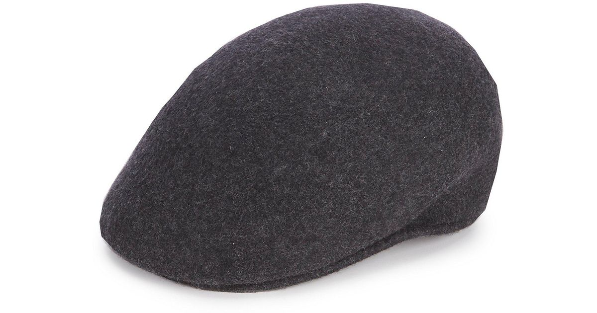 ac4d75fdf1f Lyst - Pendleton Cuffley Crushable Water-repellent Wool Cap in Gray for Men