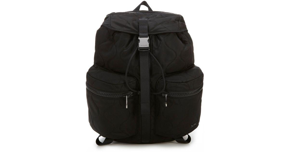 4bfbdbbb159b Michael Kors Kent Sport Zip Backpack in Black for Men - Lyst