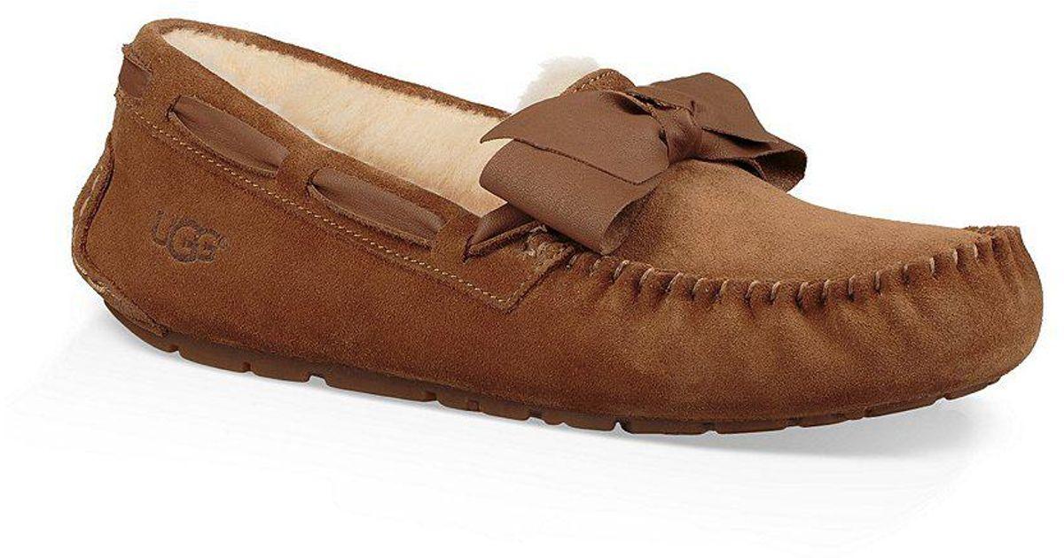 Dakota Suede Bow Slippers 3XI71YewF