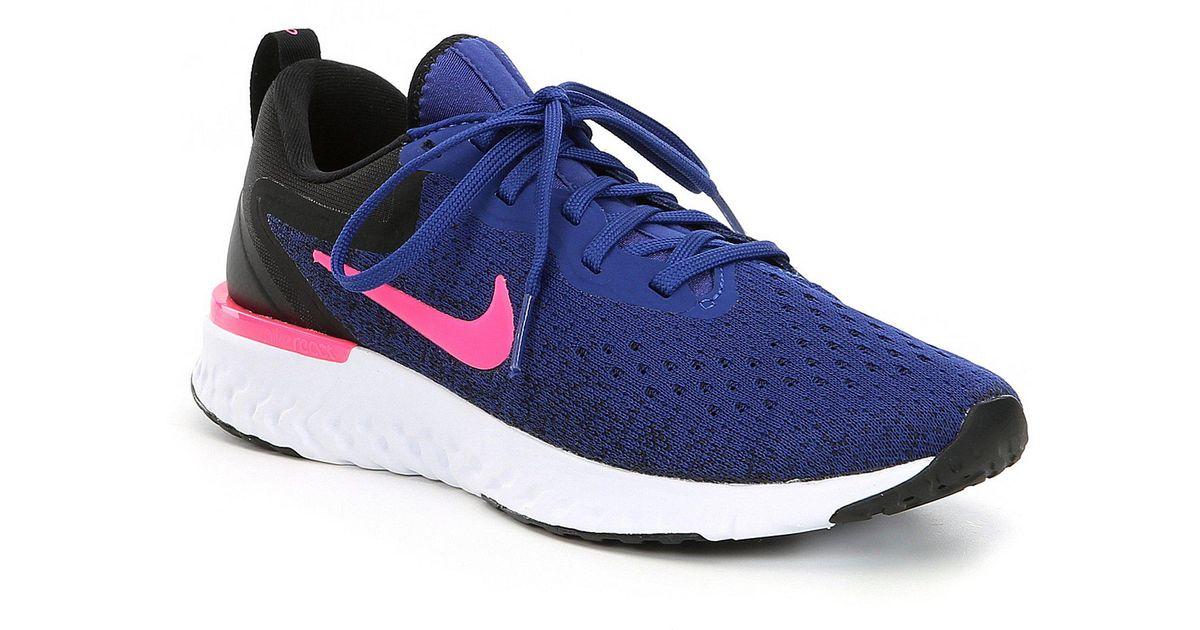 Lyst Nike Damen Running Odyssey Odyssey Running React Running Damen Schuhe in Blau ... 7f04c4