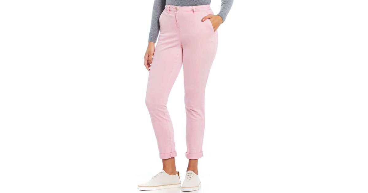 Joules Womens Hesford Chino in PALE PINK
