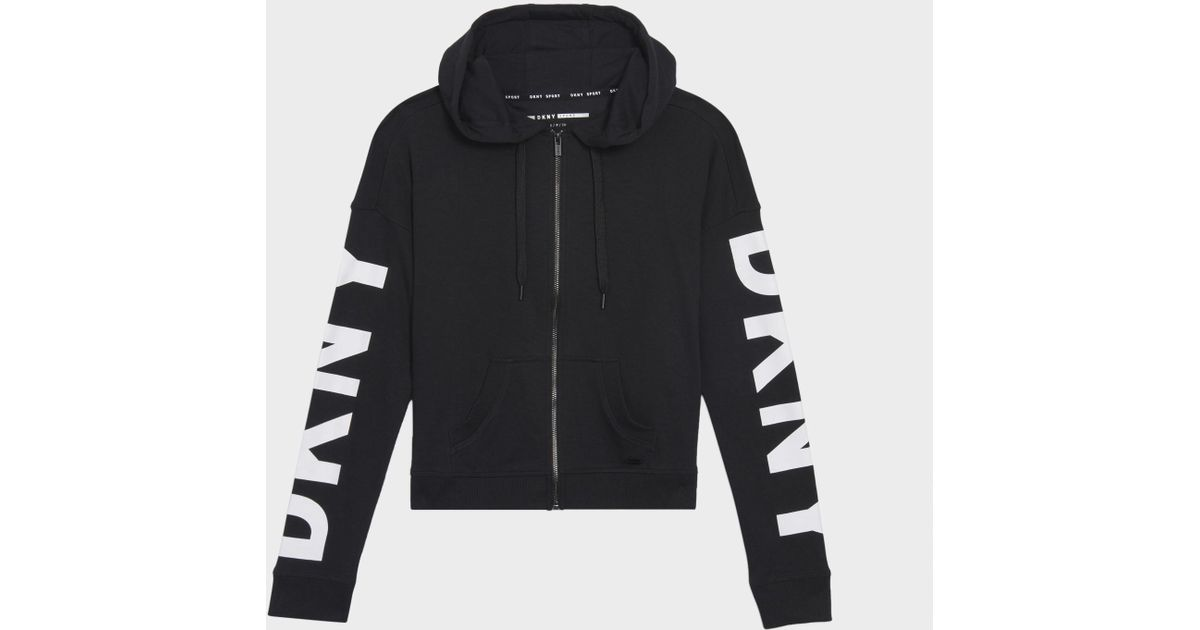 Amazing Price Cheap Online Cheap Price Top Quality Logo Zip Sweatshirt DKNY New Styles xaJqutX762