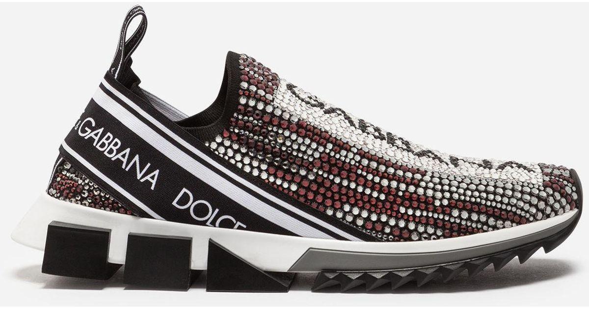 Sorrento Sneakers With Rhinestones