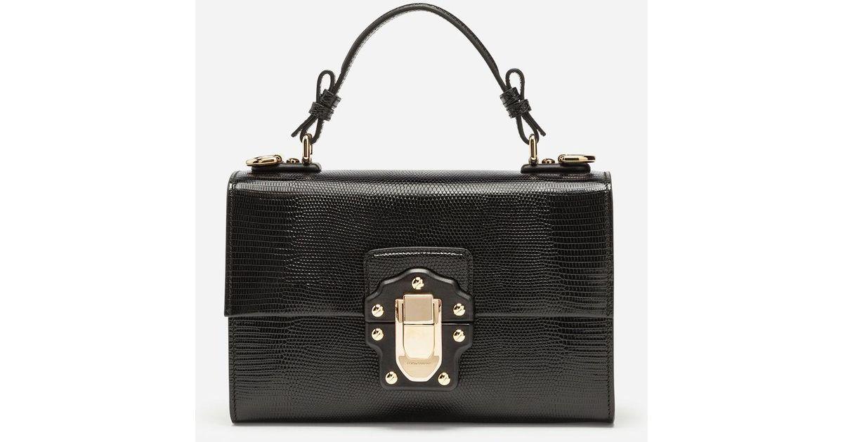 Dolce & Gabbana Lucia Poignée Supérieure Sac Fourre-tout - Noir Vente Authentique Se m7r59T7XO
