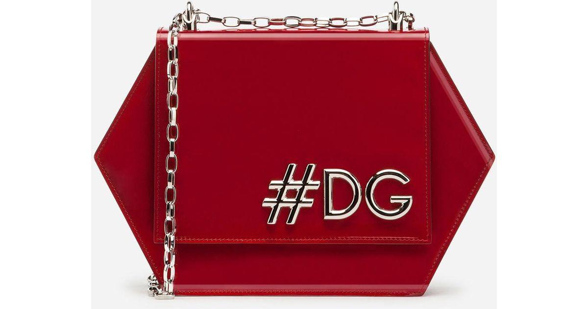 Hot Sale Cheap Price DG Girls Hexagonal shoulder bag - Red Dolce & Gabbana Outlet With Paypal Cheap Cost 12d7izSG3L