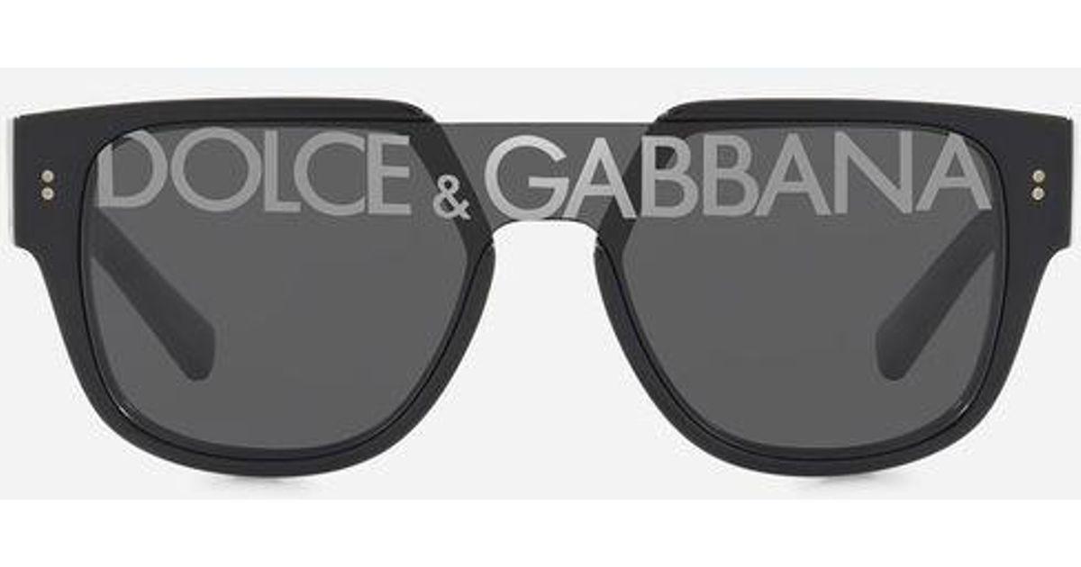 019beaa394 Gafas De Sol Domenico Dolce & Gabbana de hombre de color Negro - Lyst