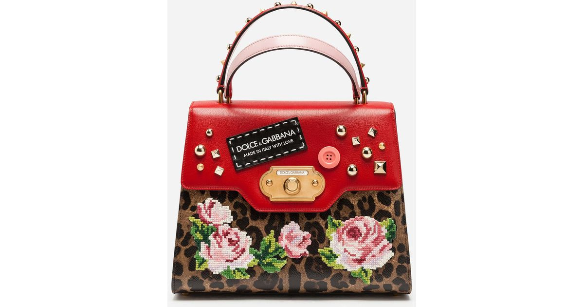 Welcome handbag - Red Dolce & Gabbana Cheap Manchester For Cheap Price Really Cheap Shoes Online Latest Cheap Price Cheap Get To Buy udL5vit