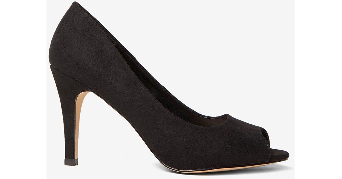 a3f1faad246 Lyst - Dorothy Perkins Wide Fit Black  clover  Court Shoes in Black