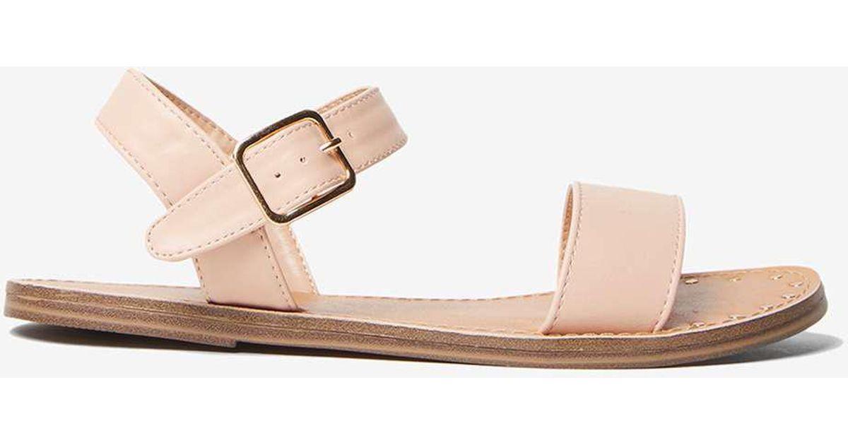 Dorothy Perkins Nude 'Floyd' Studded Sandals Classique Jeu Images Footlocker En Ligne 2018 Nouveau Rabais Prix Bas Frais De Port Offerts exclusif AT8VrsPC4