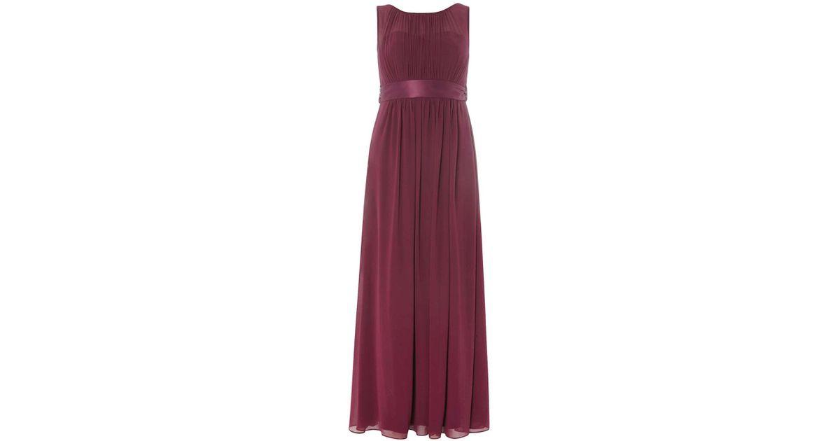 8c77d4971921 Dorothy Perkins Showcase Petite Purple 'natalie' Maxi Dress in Purple - Lyst