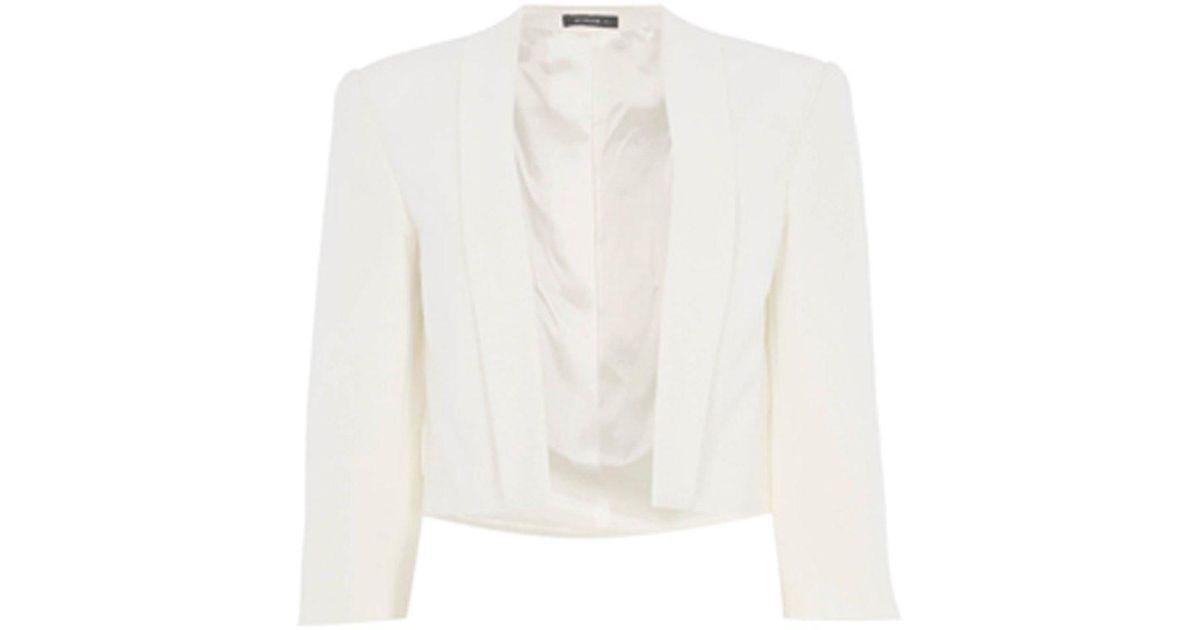Ladies Women Roman Originals Long Sleeve Crepe Blazer Jacket