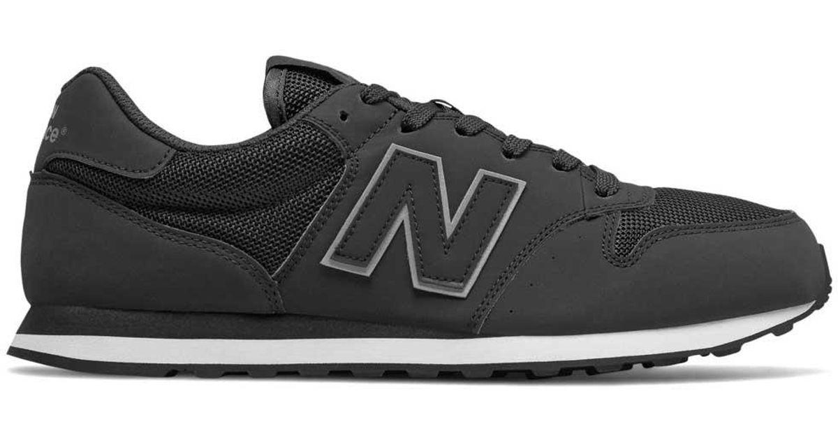New Balance 500 V1 Classic in Black for Men - Lyst