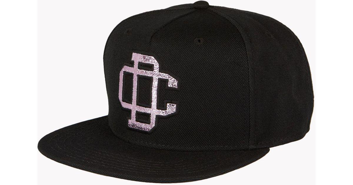 Lyst - DSquared² Dc Baseball Cap in Black for Men 6d049928a99