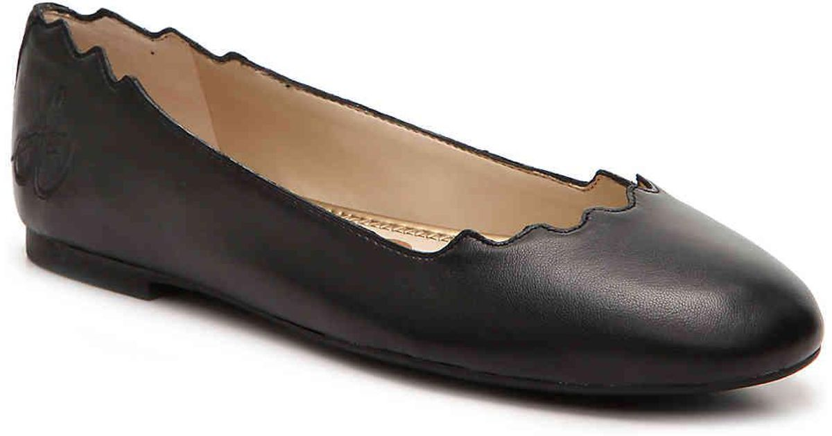 6d91b15791e1 Lyst - Sam Edelman Finnegan Ballet Flat in Black