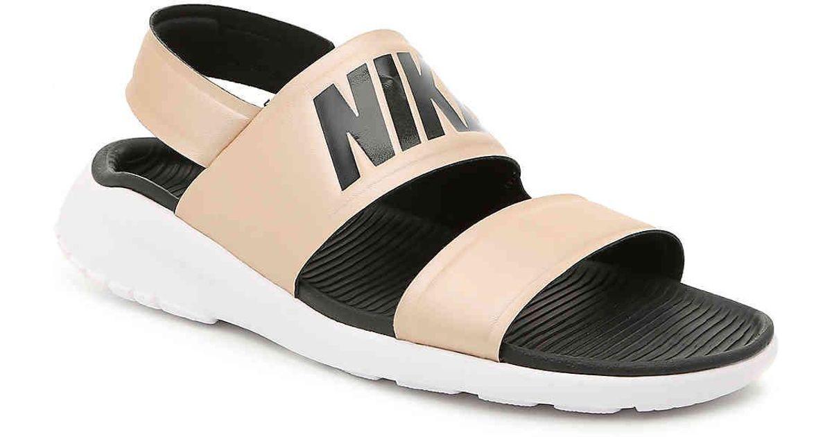 42f1e0e7e Lyst - Nike Tanjun Sport Sandal