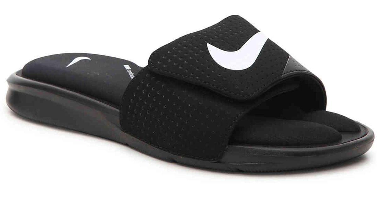9e3f3534718 Lyst - Nike Ultra Comfort Slide Sandal in Black for Men - Save 25%