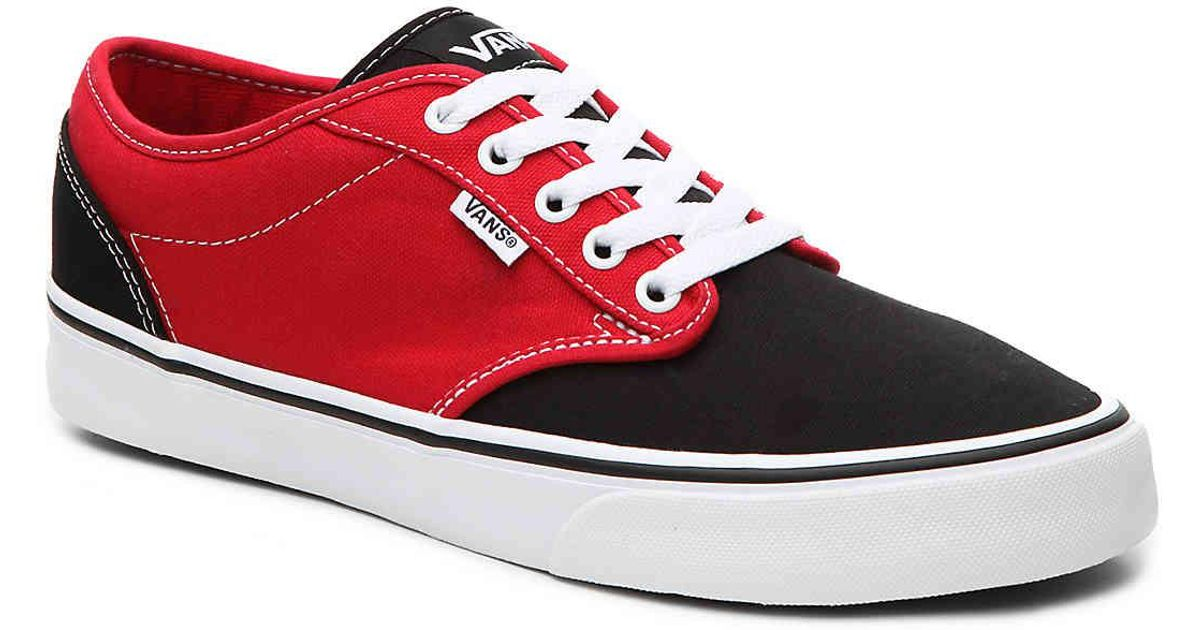 e8a49456b0 Lyst - Vans Atwood Two Tone Sneaker in Red for Men