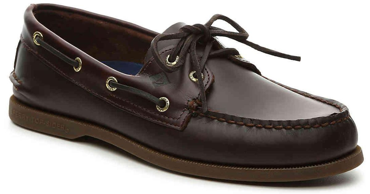 o Amaretto Boat Shoe in Dark Brown