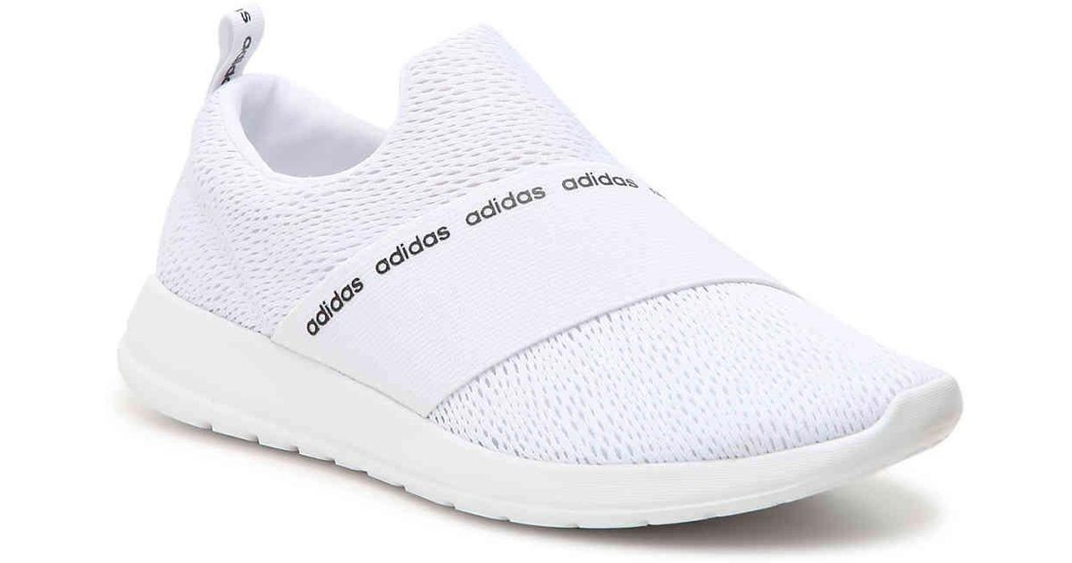 big sale f7091 db638 Lyst - adidas Refine Slip-on Sneaker in White