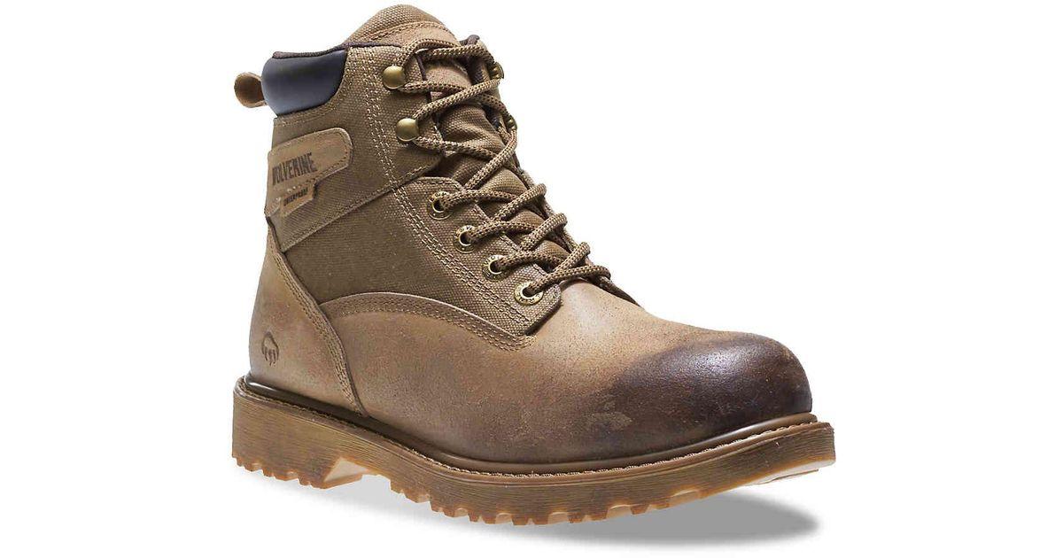 b28f5899b21 Wolverine Brown Floorhand Fx Work Boot for men