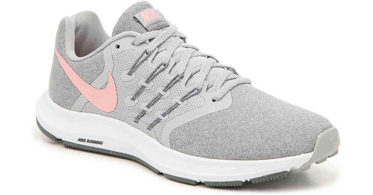 online store d4e54 17597 Nike Gray Run Swift Running Shoe