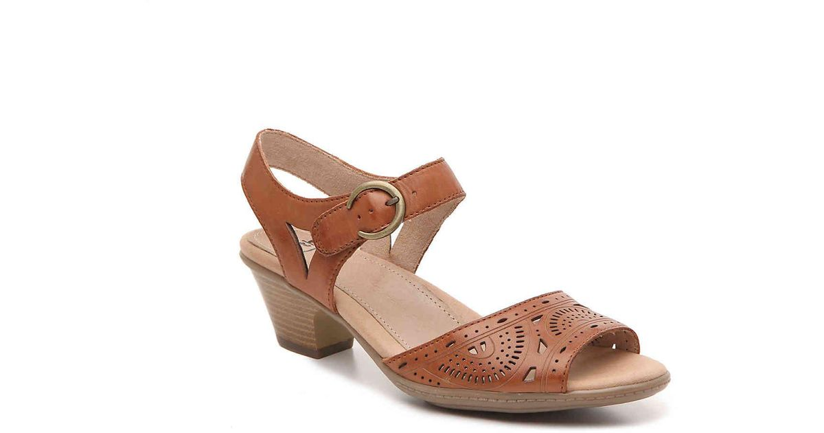 Earth Leather Carson Westport Sandal in