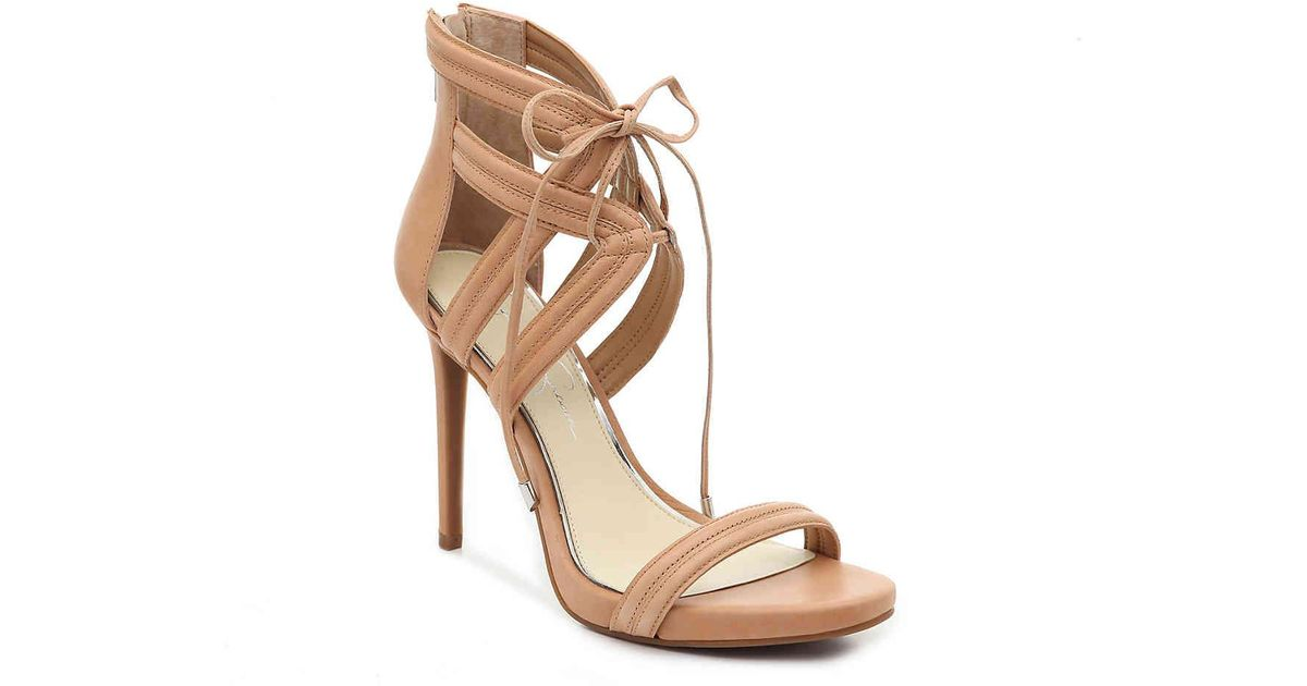 ff9893d970e Lyst - Jessica Simpson Rensa Platform Sandal in Natural