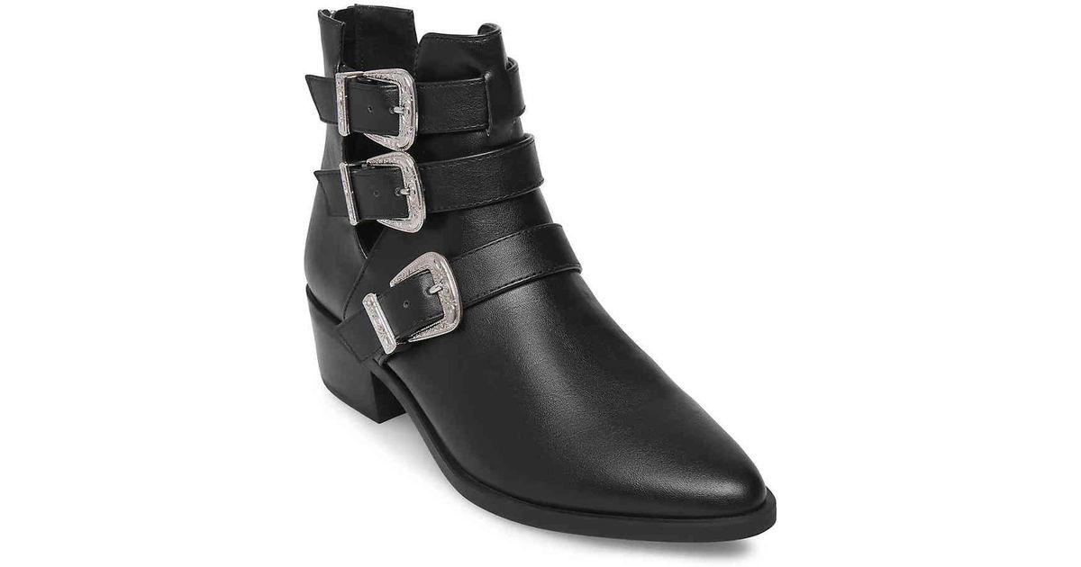 Madden Girl Cecily Western Bootie in