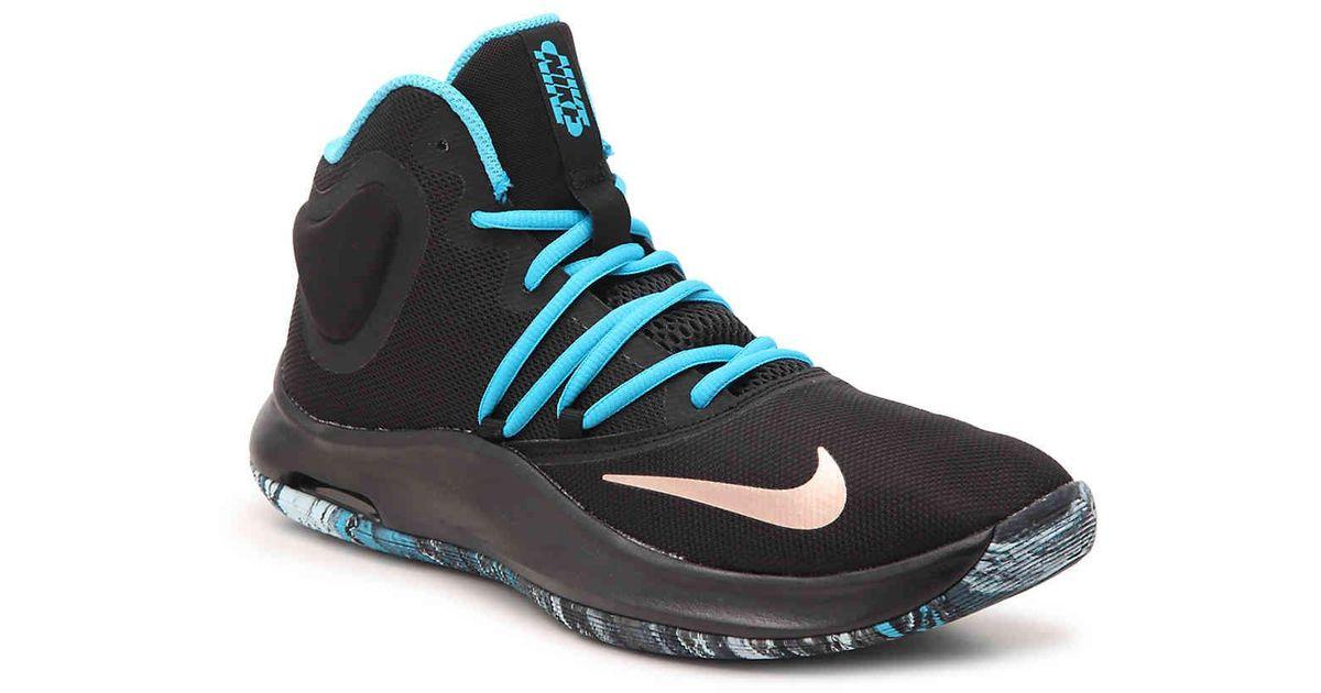 elevación Engreído desencadenar  Nike Synthetic Air Versatile Iv Basketball Shoe in Blue for Men - Lyst