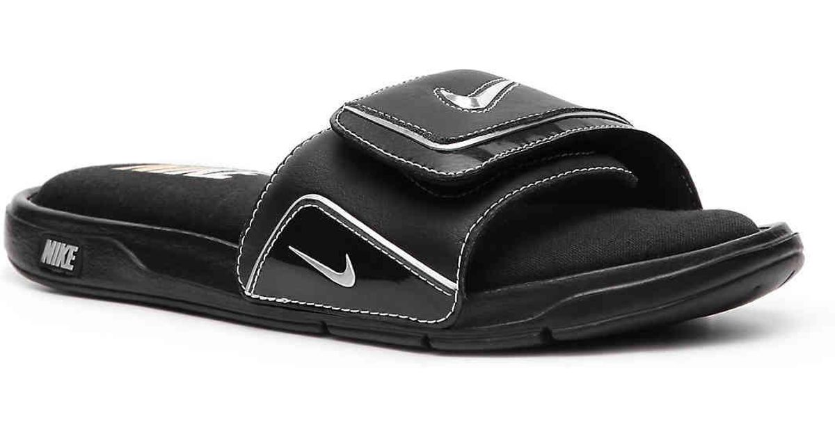 reputable site b53f4 766cf Nike Comfort Slide 2 Sandal in Black for Men - Lyst