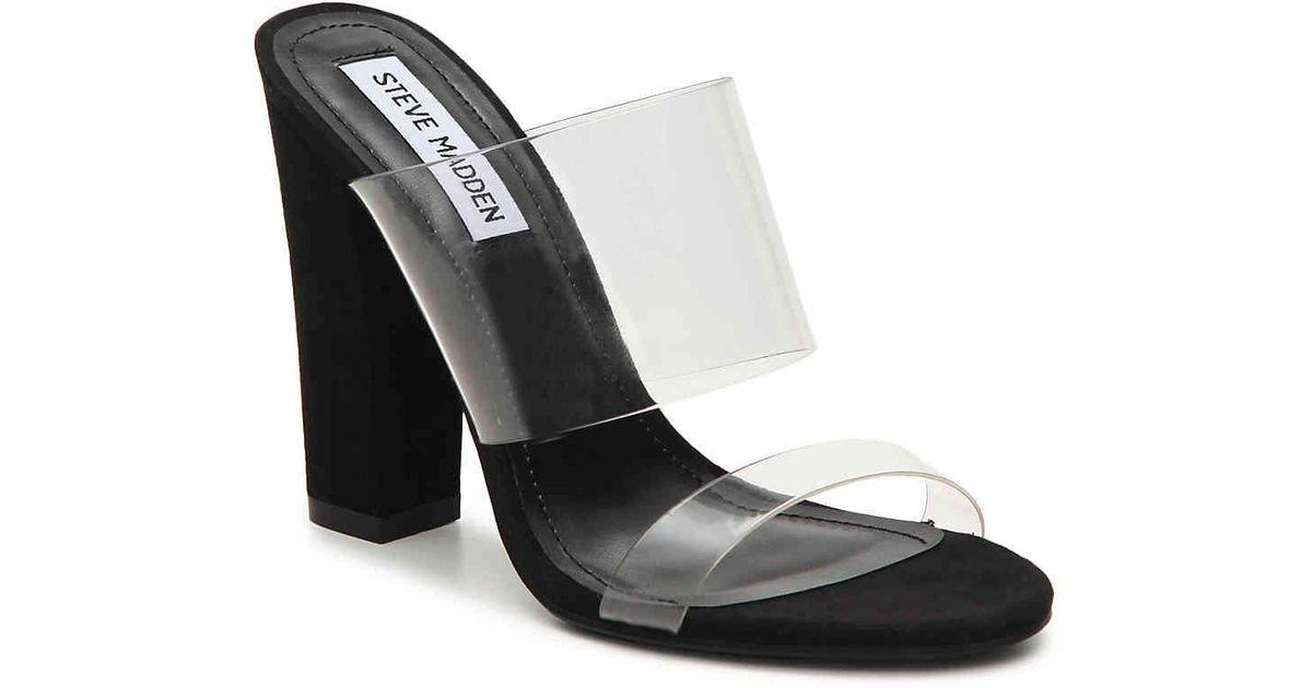 0e118a597ba Steve Madden Black Jubilee Sandal