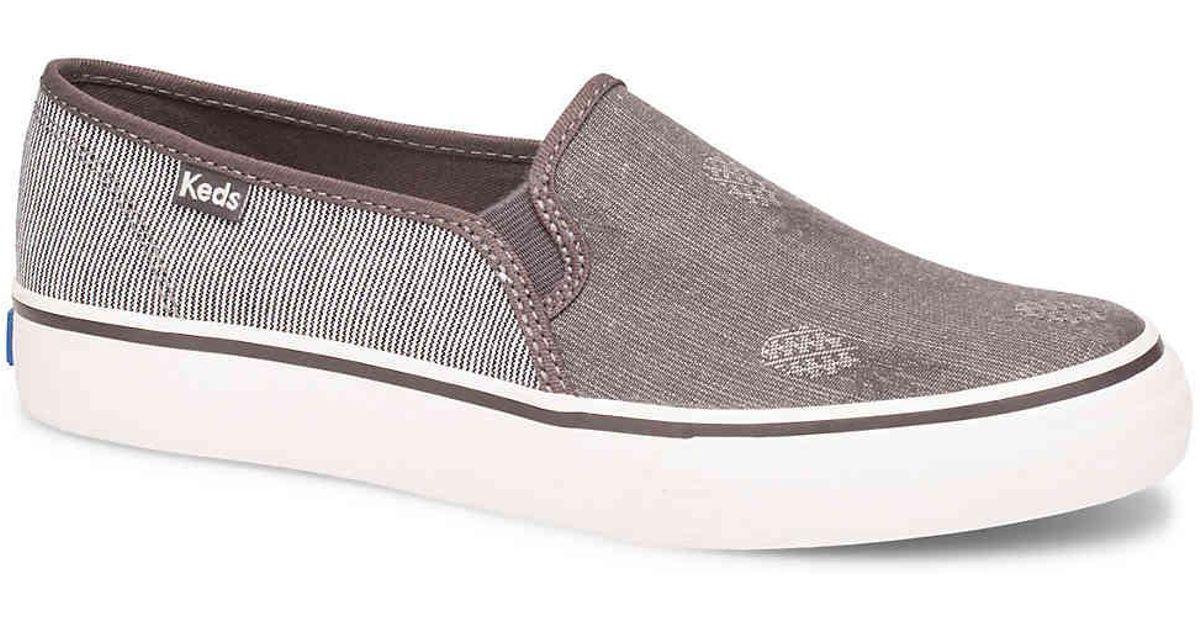 794d61e9bb79 Lyst - Keds Double Decker Slip-on Sneaker in Gray